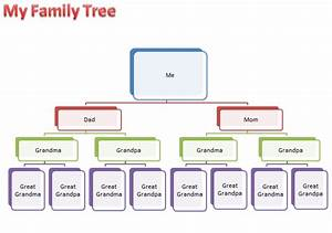 Make a family tree k 5 computer lab technology lessons for Family tree diagram template microsoft word