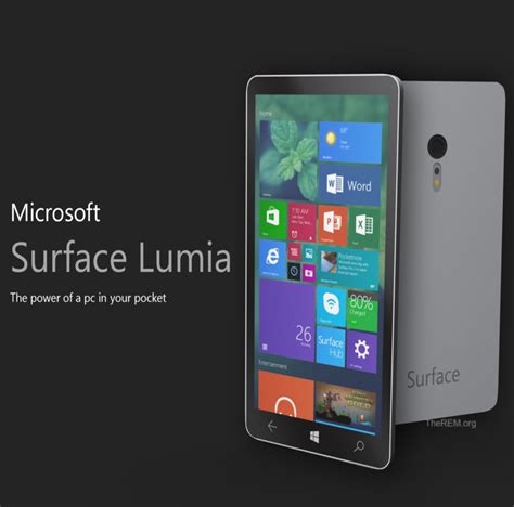 windows phone 2015 microsoft to introduce lumia surface windows phone the rem