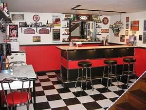 American Diner Einrichtung : 1001 ideen f r rockabilly deko zum entnehmen ~ Sanjose-hotels-ca.com Haus und Dekorationen