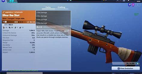 shot sniper   damage fortnite