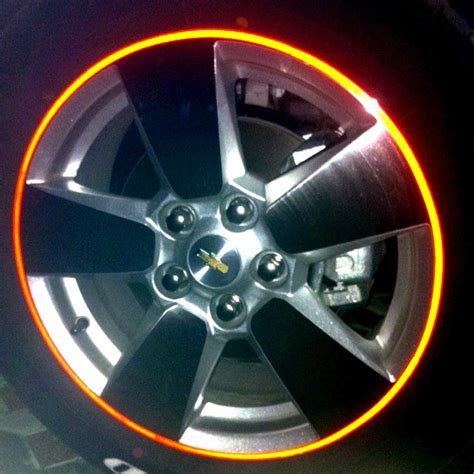 strips  high quality reflective car motorcycle rim