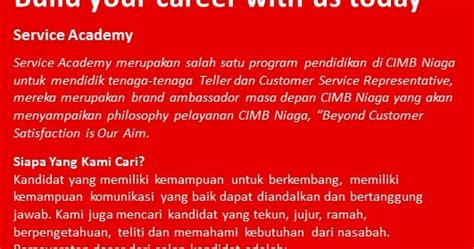 Lowongan kerja tasikmalaya, jawa barat. Loker Tasikmalaya Bank CIMB Niaga ~ Lowongan Kerja Indonesia