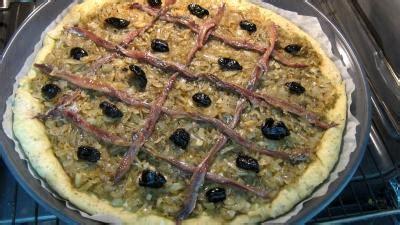 recette cuisine nicoise pissaladière niçoise supertoinette la cuisine facile