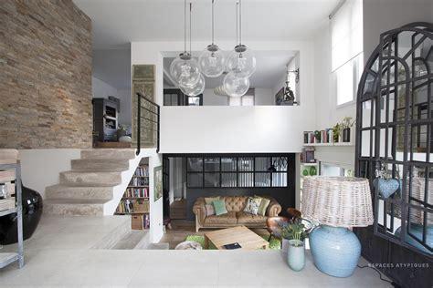 extension cuisine sur jardin villiers sur marne maison ancienne avec extension contemporaine agence ea