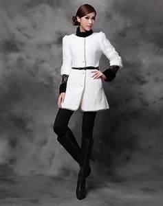 Veste D Hiver Femme 2017 : manteau d 39 hiver angora mode robe et v tement ~ Dallasstarsshop.com Idées de Décoration
