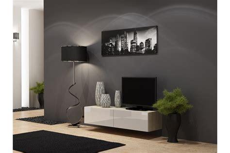 suspensions cuisine meuble tv design suspendu vito 140cm design