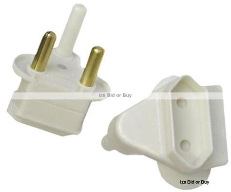 2 Pin Plug Adapter (pack Of 5