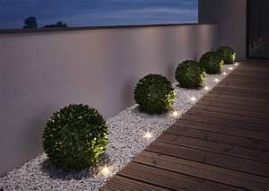 Terrassenbeleuchtung Boden Led : 7 mani res d 39 clairer son all e de jardin ~ Sanjose-hotels-ca.com Haus und Dekorationen