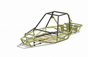 Dune Buggy Frame   Iges  Solidworks  Other