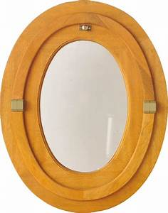 Oeil De Boeuf Bois : il de b uf bois oval h65xl50cm bricoman ~ Nature-et-papiers.com Idées de Décoration