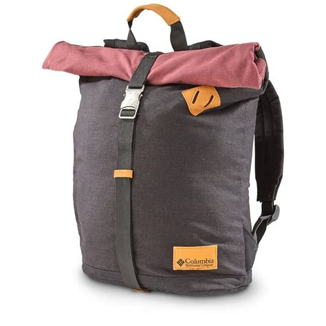 Columbia Roll Top Backpack  642514, Camping Backpacks At