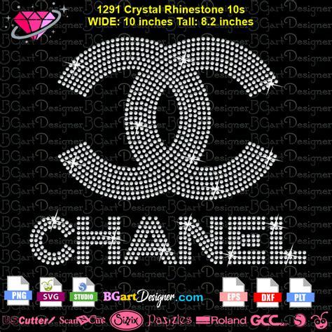 lllᐅChanel logo rhinestone download - bling logos cricut ...