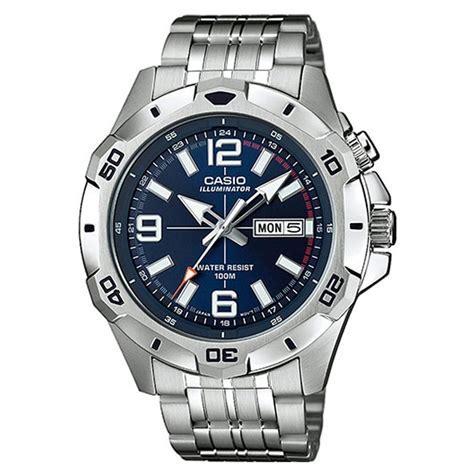 CASIO Illuminator Watch For Man MTD 1082D 2AVDF