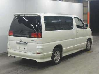 Elgrand Hd Picture by 2001 Nissan Elgrand Pictures