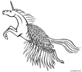 Pegasus Unicorn Coloring Pages