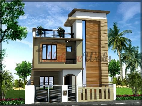 House Front Elevation Design For Floor