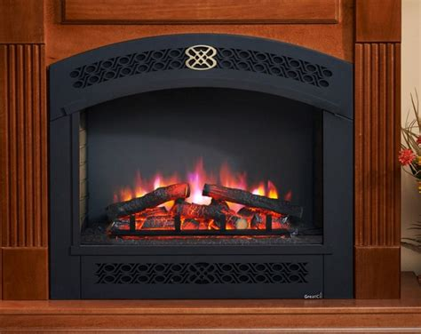 rio grande full arch front electric fireplace