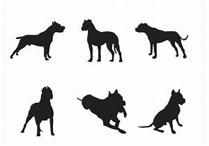 Free Vector Dog Silhouettes - Download Free Vector Art ...