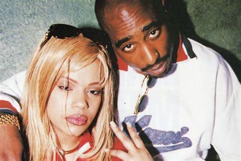 Faith Evans and Tupac