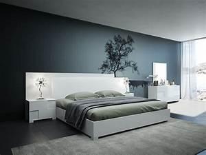 Modrest, Monza, Italian, Modern, White, Bedroom, Set
