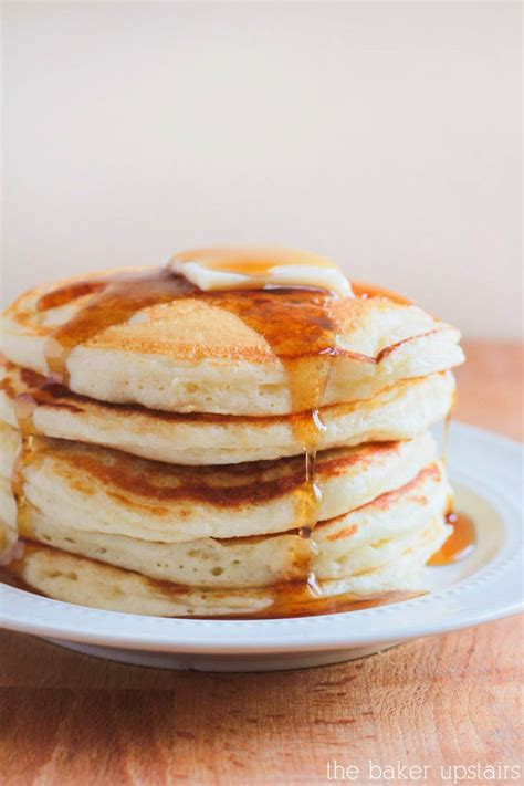 the baker upstairs pancakes