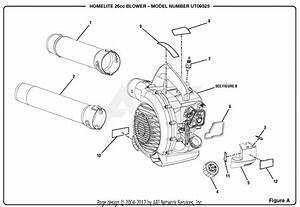 Homelite Ut09525 26cc Blower Parts Diagram For Figure A