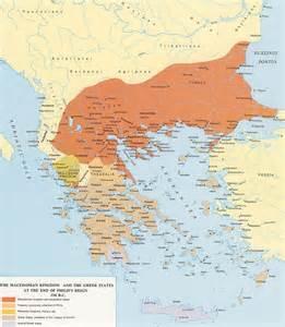 Ancient Greece and Macedonia Map
