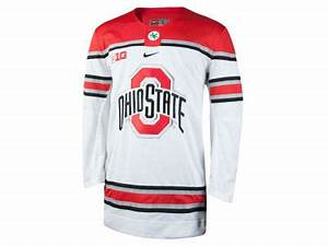 nike ncaa men39s limited hockey jersey apparel at With kitchen colors with white cabinets with what are the stickers on ohio state s helmets
