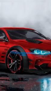 Type X Lights Wallpaper Bmw M4 Custom Cgi Neon Sport Car Hd 4k