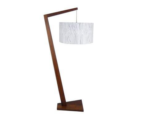 Danish Modern Floor Lamp Teak Arm Lamp Wooden Arc Lamp