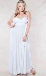 Robe été Mariage : robe ete mariage longue grande taille blanche la robe longue ~ Preciouscoupons.com Idées de Décoration