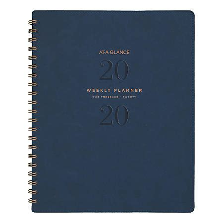 glance signature collection month weeklymonthly planner