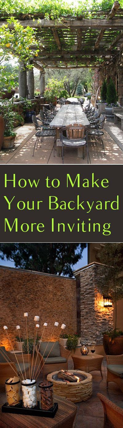 how to make your backyard more how to make your backyard more inviting home decorating magazines