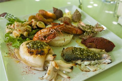 French cuisine is regarded by gourmets as the best in the world and dining is a way of life in france. File:Sea food in Provence, France (6053036692).jpg ...