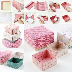 Creative Ideas DIY Cute Origami Gift Box