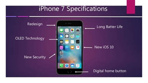iphone features iphone 7 overview with features