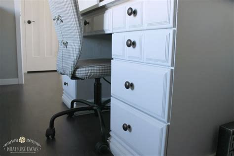 desk makeover with menards chalk paint boy dimensions chalky finish review boys