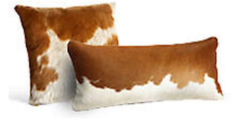 Cowhide Pillow Cover by Cowhide Pillow Cover Cushion Cow Hide Hair On Cover Set