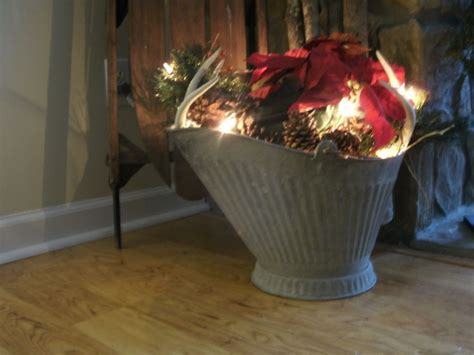 10 best images about uses of coal buckets on vintage planters and burlap bows
