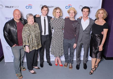 actor list american horror story cast of american horror story freak show attends