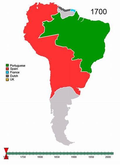 America South 1700 Colonization European Americas American