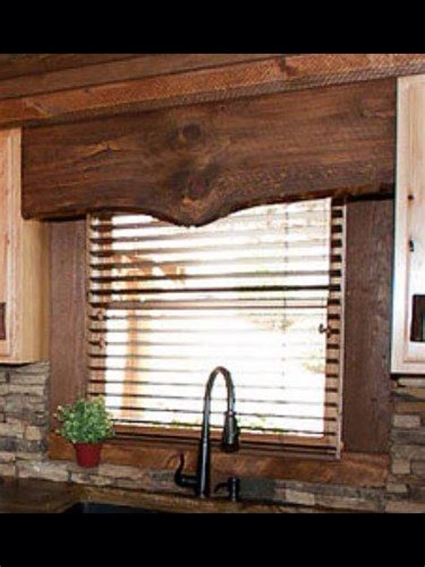 Window Toppers For Blinds by Window Topper Home Ideas Rustic Window Treatments