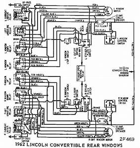 Wiring Diagrams Of 1962 Ford Lincoln Continental Part 2
