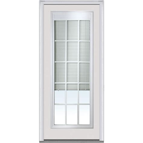 mmi door      internal blinds  gbg left