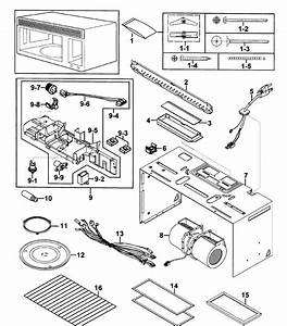 Samsung Model Smh7185stg  Xaa Microwave  Hood Combo Genuine
