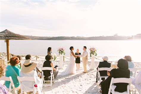 carlsbad beach wedding nikki bill lovers  love