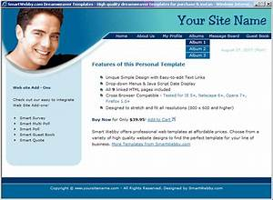 Personal website templates e commercewordpress for Html templates for personal profile