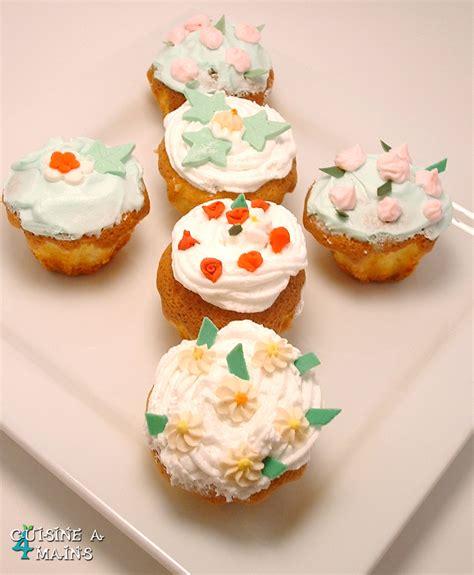 cuisine 4 mains cupcakes printaniers cuisine à 4 mains