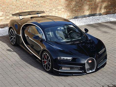 Bugatti All Black by 2017 Used Bugatti Chiron Nocturne Black
