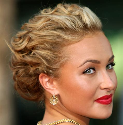 short bob hairstyles formal prom curly updo hairstyle